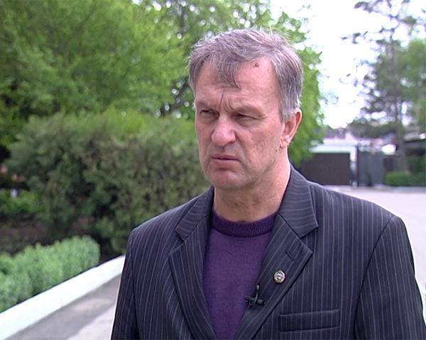 Военный комиссар Краснодарского края Владимир Филатов