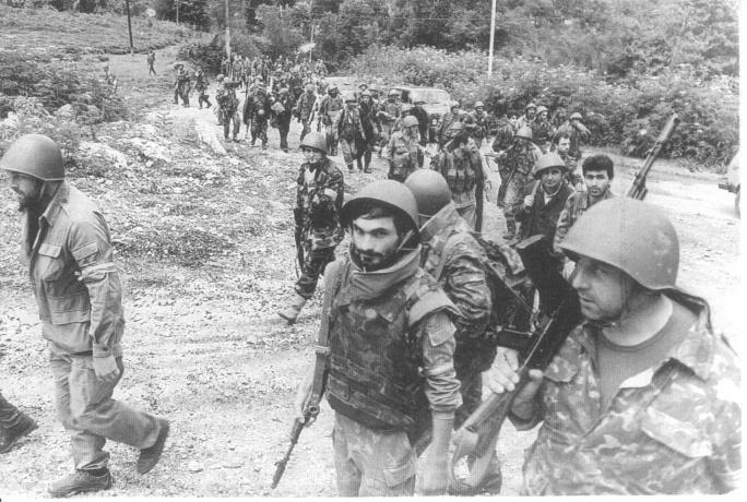 Война в Абхазии 1992 — 1994 года заставила Севастиди и Харебаву бежать в Россию